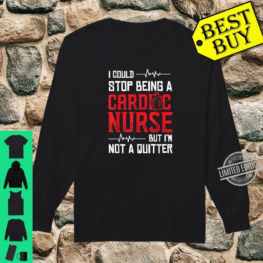 Cardiologist Job Title Tee Shirt Design Long Sleeve Shirt