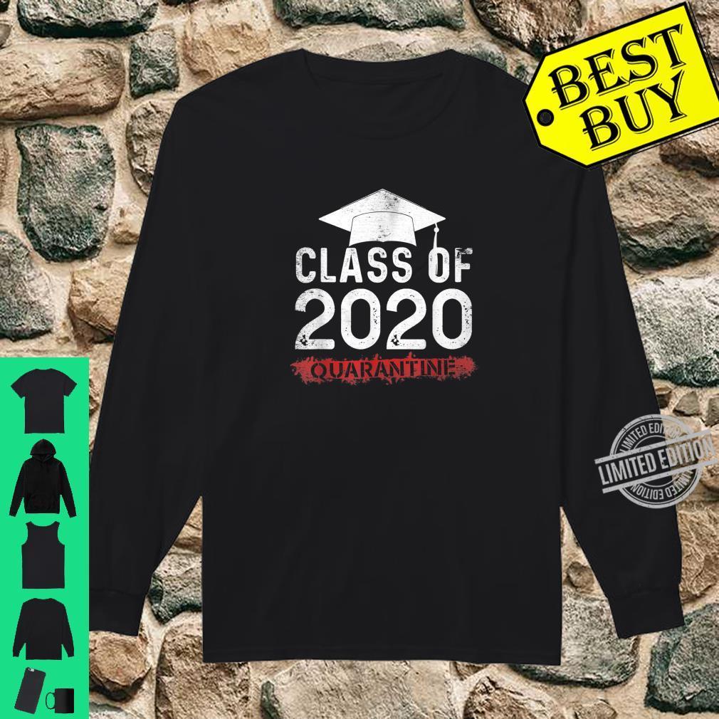 Sweatshirt T shirt Hoodie Class Of 2020 Graduating Class In Quarantine Vintage Funny Tank Top Long sleeve