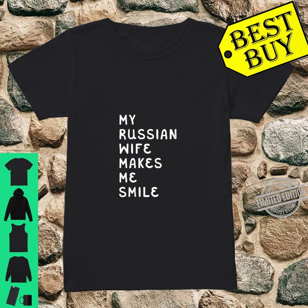 Womens-My-Russian-Wife-Makes-Me-Smile-Shirt-ladies-tee <h1>The Unadvertised Details Into Hot Russian Brides That Many People Don't Know About</h1>